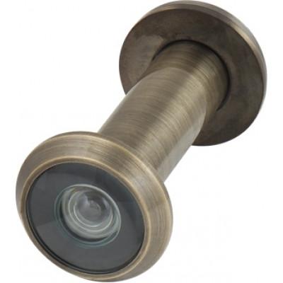 Дверной глазок Armadillo стеклянная оптика DVG2, 16/55х85 AB Бронза