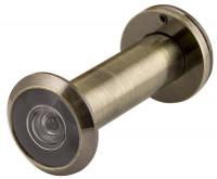 Дверной глазок Fuaro DVZ3 16/200/50x90 (оптика пластик, угол обзора 200) AB Бронза