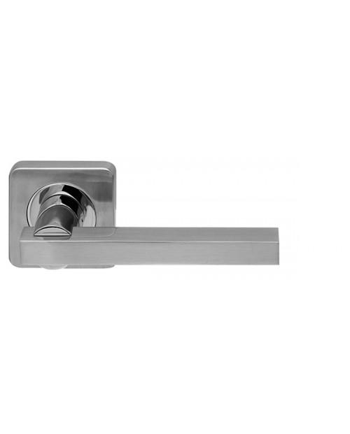 Ручка дверная ORBIS SQ004-21SN/CP-3 матовый никель/хром
