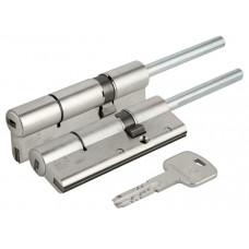 Цилиндровый механизм Cisa AP3 OH3S7-87.12 (90 мм/55+10+25), никель