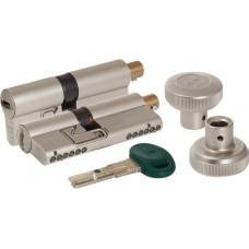 Цилиндровый механизм Mottura c вертушкой C31F364601RC5 (82 мм/31+10+41), МАТ.НИКЕЛЬ (верт. 99.506)