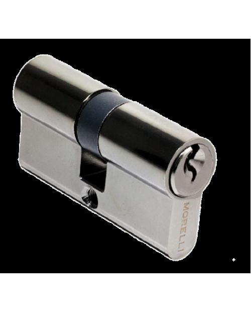 Цилиндровый механизм Morelli 60 ключ-ключ, черный никель