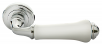 Ручка Morelli MH-41 Classic MH-41-CLASSIC PC/W, хром белый