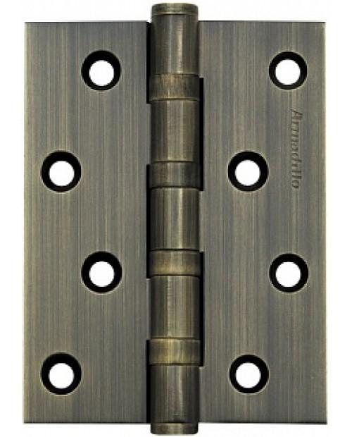 Петля латунная Armadillo 500-C4 100x75x3 AB Бронза