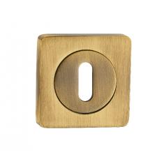 Накладка квадр. на сув.ключ RENZ, OB 02 AB, бронза античная