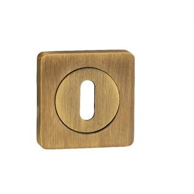 Накладка квадр. на сув.ключ RENZ, OB 02 MAB, бронза ант. матовая