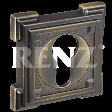Накладка на цилиндр ET 19 AB, античная бронза