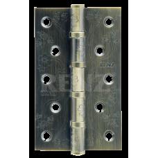 Петля стальная декор RENZ 125-75-2,5, FL 4 подшипника , бронза