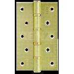 Петля стальная декор RENZ 125-75-2,5, MR 4 подшипника латунь матовая