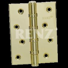 Петля стальная RENZ 100*75*2,5, 4 подшипника , латунь мат.