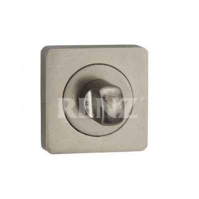 Завертка квадр. к ручкам RENZ, BK 02 BIG SL, серебро античное