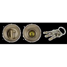 Завертка с ключом RENZ, бронза BK-K 08 AB,