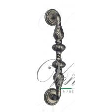 Ручка скоба Venezia LUCRECIA D2 античное серебро