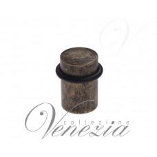 Упор дверной напольный Venezia ST3 античная бронза