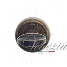 Фиксатор поворотный Venezia WC-2 D1 античная бронза