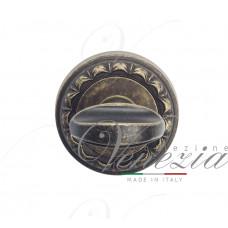 Фиксатор поворотный Venezia WC-2 D2 античная бронза