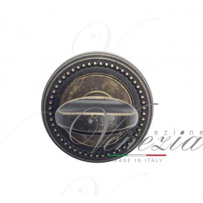 Фиксатор поворотный Venezia WC-2 D3 античная бронза