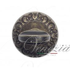 Фиксатор поворотный Venezia WC-2 D4 античная бронза