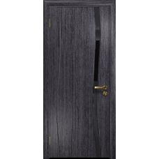 Дверь DioDoor Грация 1 абрикос триплекс черный