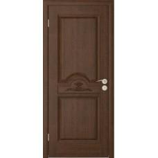 Дверь Юркас Люкс глухая Каштан