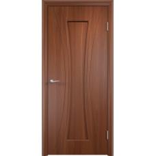 Дверь ПВХ Богемия ДГ итальянский орех
