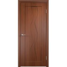 Дверь ПВХ Вираж ДГ итальянский орех