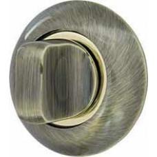 Фиксатор-завертка Armadillo WC-BOLT BK6-1AB/GP-7 бронза/золото