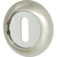Накладка на ключ Armadillo NORMAL PS-1SN/CP-3 матовый никель/хром