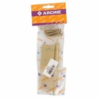 Петля латунная Archie A010-D 100X70X3-2U