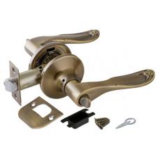 Ручка Punto защелка 6030 AB-B (фик.) бронза