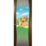 Дверь Буревестник-2, Венге, остекленная с рисунком
