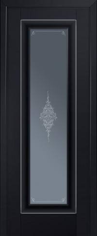 Profil Doors 24 U, Черно Матовый
