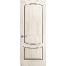 Дверь Лувр,  Ясень Белый жемчуг, Глухое