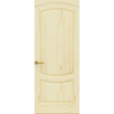 Дверь Лувр, Ясень слоновая кость, Глухое