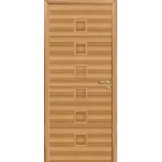 Дверь Оникс Вега, глухое, зебрано