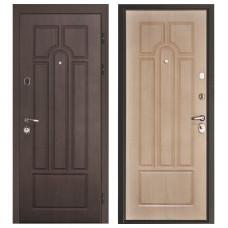Стальная дверь Итекрон Афина, Беленый дуб