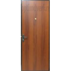 Дверь входная Эконом, итальянский орех