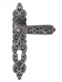 Ручка Genesis Arabesco, черное серебро, bl. silver