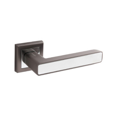 Ручки дверные Windrose Nevada H-18107-А-GRF/CR