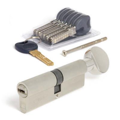 Цилиндровый механизм Apecs Premier CD-90-C-NI