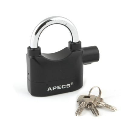 Замок висячий с сигнализацией Apecs PDZ-67-70-Blister