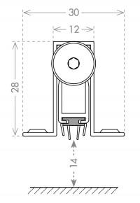Автоматический порог Armadillo EASY CON ALETTE ASAL A1/830