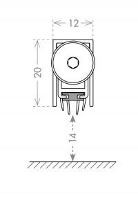 Автоматический порог Armadillo EASY TREND ASTD A1/930