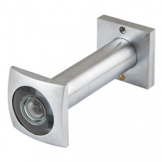 Дверной глазок Armadillo КВАДРАТНЫЙ, DVG5 SQ, 16/50х80 SC Мат. Хром