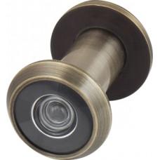 Дверной глазок Armadillo пластиковая оптика DV1, 16/35х60 AB Бронза