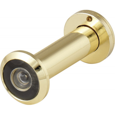 Дверной глазок Fuaro DVZ2 16/200/60x100 (оптика пластик, угол обзора 200) GP Золото