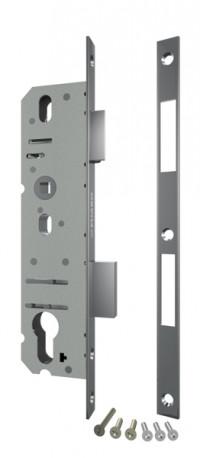 Корпус замка Fuaro с защелкой 4916-30/92 CP (хром) межосев. расст. 92 мм