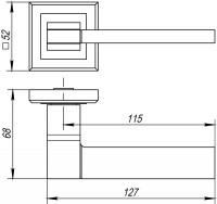 Ручка Punto TECH QL GR/CP-23 графит/хром