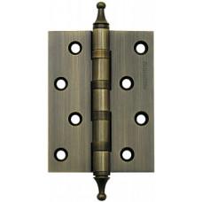 Петля латунная Armadillo 500-A4 100x75x3 AВ Бронза Box