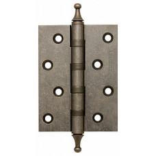 Петля латунная Armadillo 500-A4 100x75x3 AS Античное серебро